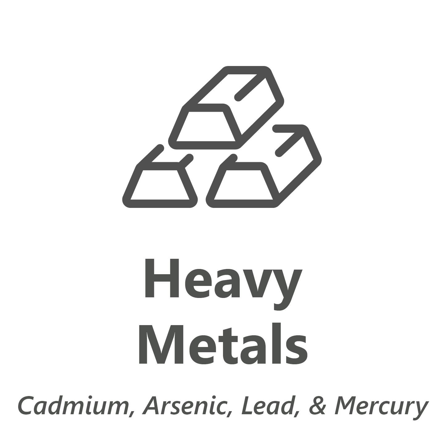 Web store icon for Heavy Metals chemistry test.