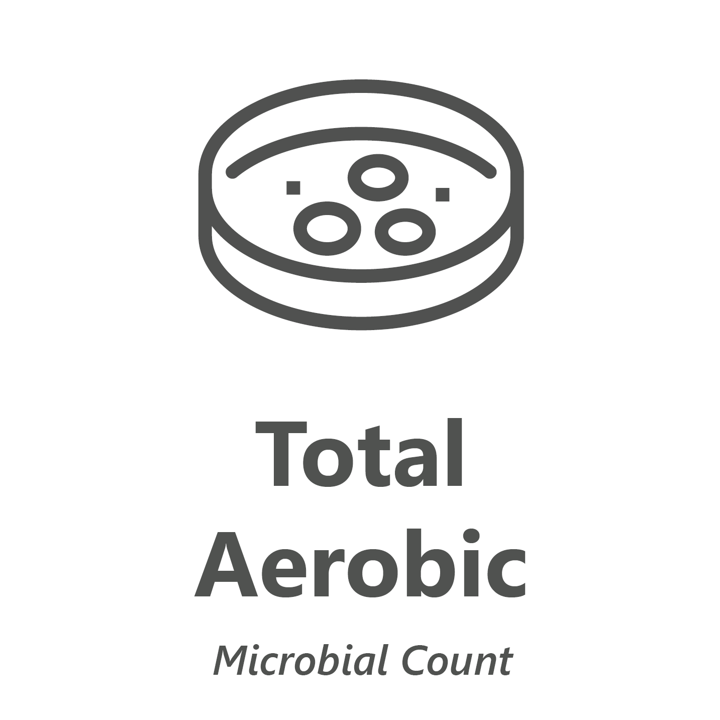 Web store icon for Total Aerobic Count (TAC) microbiology Test.