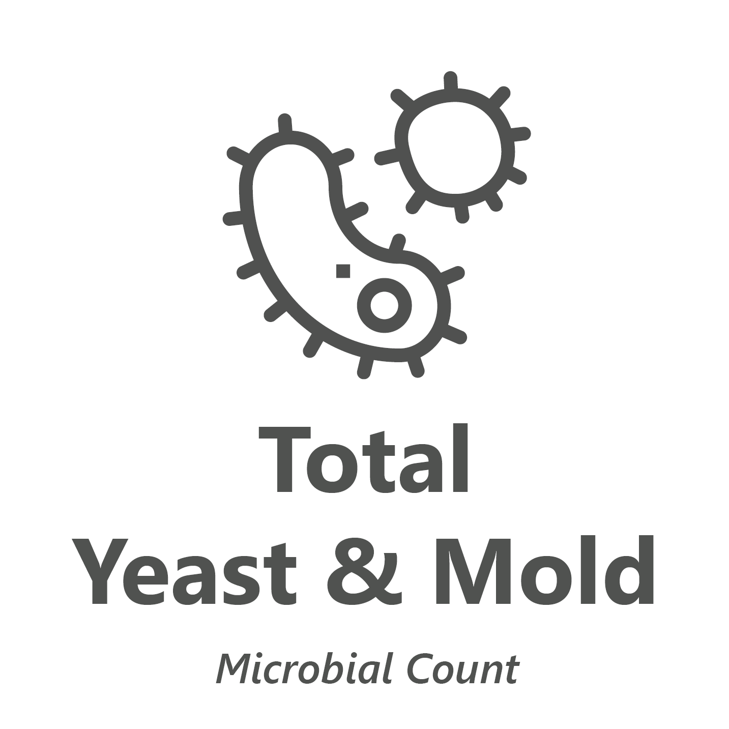Web store icon for Total Yeast & Mold microbiology test.